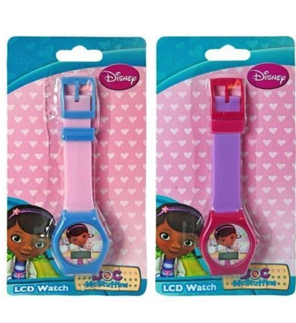 Disney Doc McStuffins Kids Digital LCD Watch