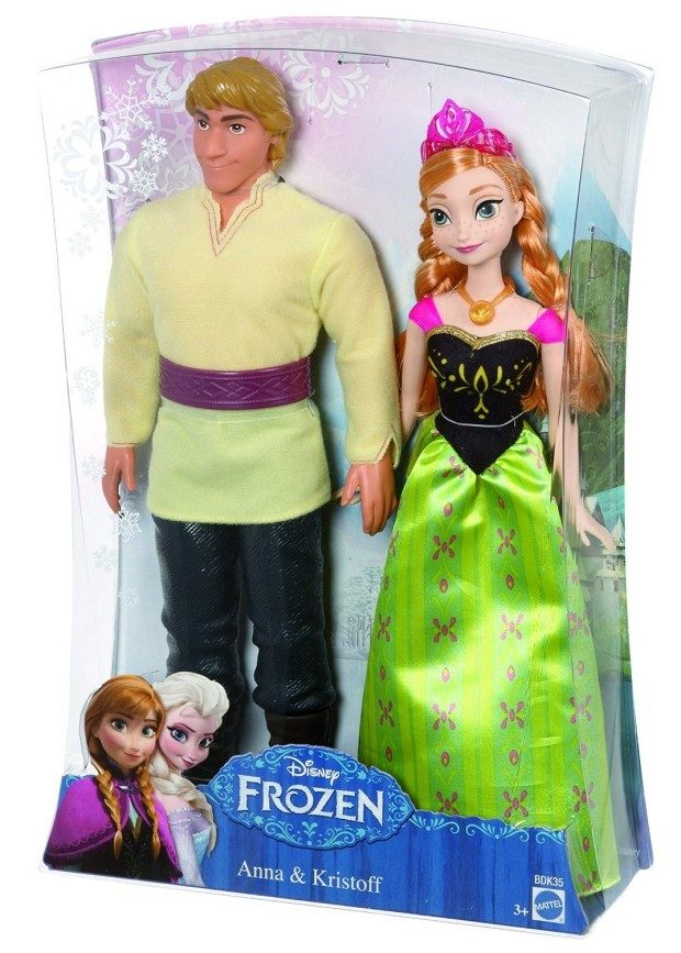 Disney Frozen Anna and Kristoff Doll Just $10.48! (reg. $24.99)