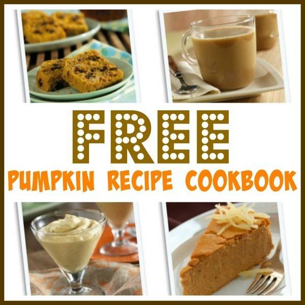 FREE Downloadable Pumpkin Recipe Cookbook