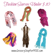 Fashion Scarves Under $10 SHIPPED!