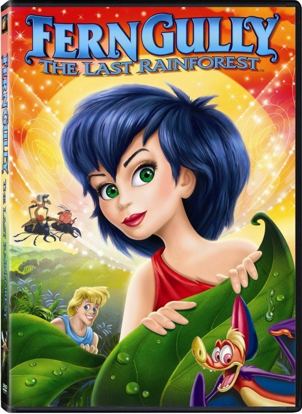 Ferngully - The Last Rainforest on DVD