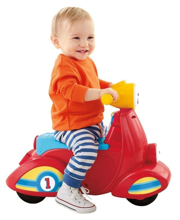 Fisher-Price Laugh & Learn Smart Stages Scooter Just $15.98! (reg. $29.99)