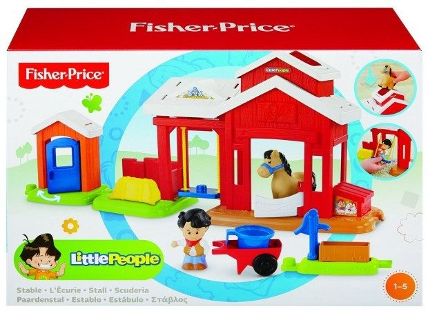 Fisher-Price Little People Horse Stable Just $13.24! (reg. $19.99)