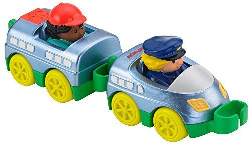 Fisher-Price Little People Wheelies Train Toy, 2-Pack Just $2.57! (reg. $8.99)