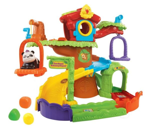 Go! Go! Smart Animals Tree House Hideaway Playset