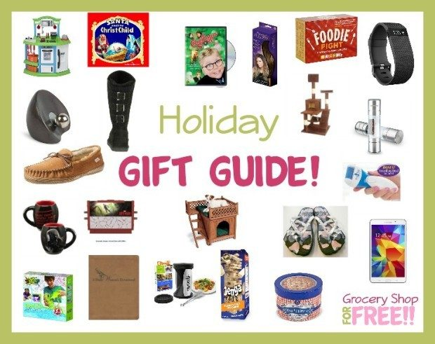 Grocery Shop For FREE Holiday Gift Guide 2015!