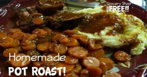 Homemade Pot Roast!