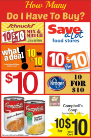 FAQ About Coupons:  How Many Do I Have To Buy?