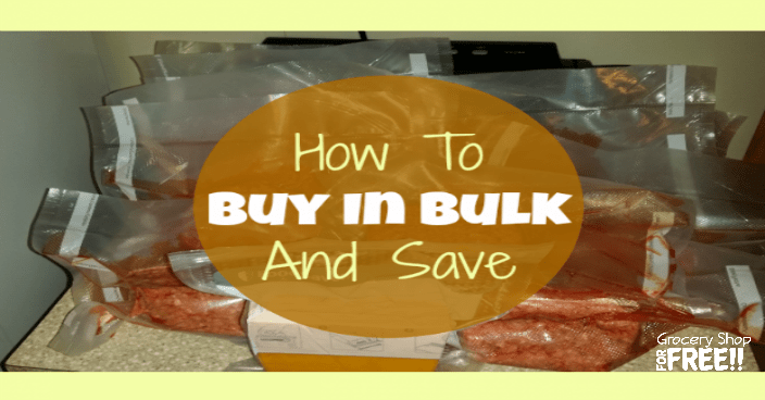 How To Buy In Bulk And Save!