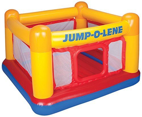 Intex Playhouse Jump-O-Lene Inflatable Bouncer Just $37 Shipped!