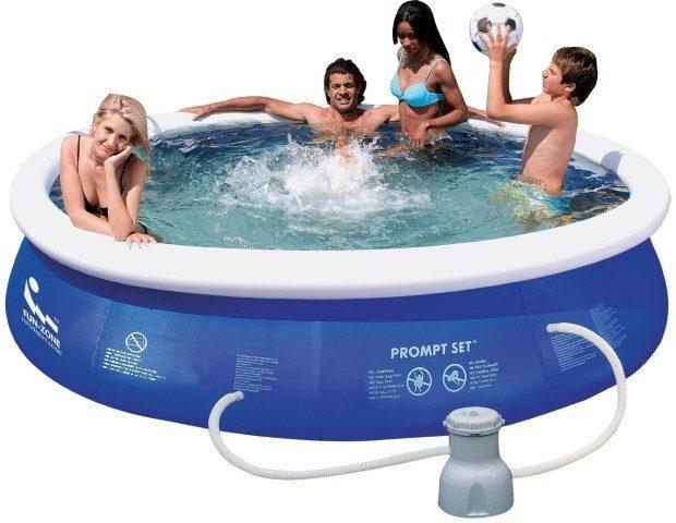 Jilong Pools 8-Foot Prompt Pool Set Only $49.99 (Reg. $130)!
