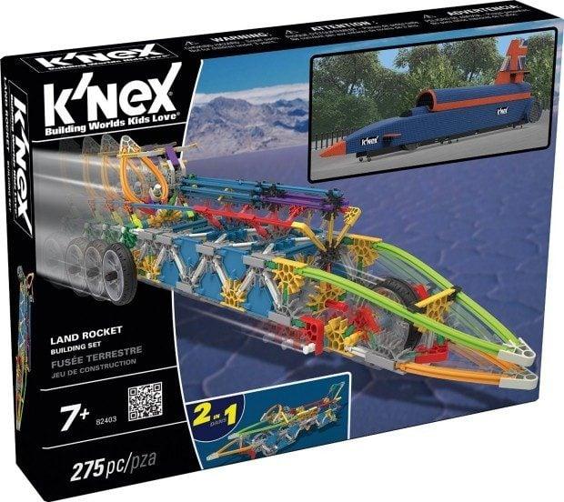 K'NEX Land Rocket Building Set Just $10.68!