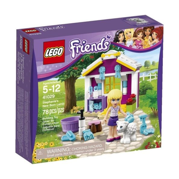 LEGO Friends Stephanie's New Born Lamb $7.98 + FREE Shipping with Prime!