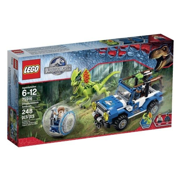 LEGO Jurassic World Dilophosaurus Ambush Building Kit Just $20.49 Shipped!