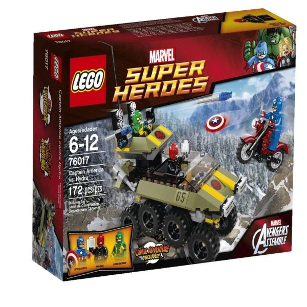 LEGO Superheroes Captain America vs. Hydra