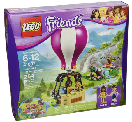 LEGO Friends 41097 Heartlake Hot Air Balloon Just $16 Down From $30!