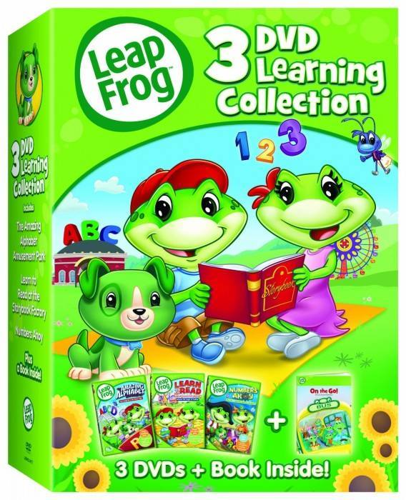 LeapFrog: 3-DVD Learning Collection Just $11.78!