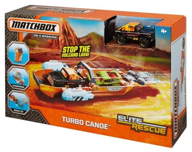 Matchbox Elite Rescue Turbo Canoe Vehicle Just $3.50! (Reg. $9.99)