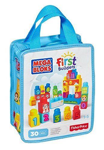 Mega Bloks First Builders 1-2-3 Count Just $7.96! (reg. $14.99)