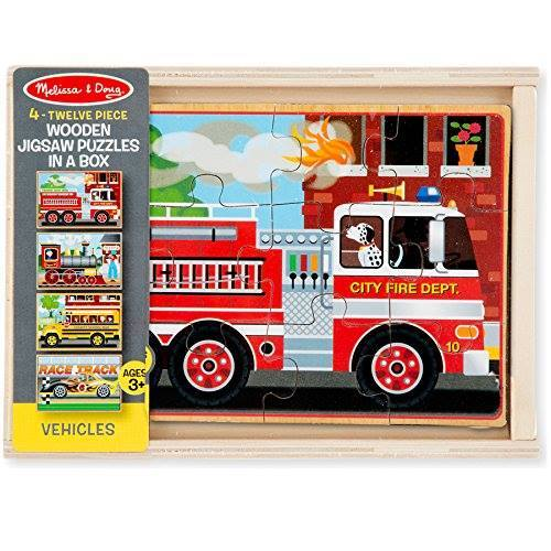Melissa & Doug Wooden Jigsaw Puzzles in a Box Just $8.39!