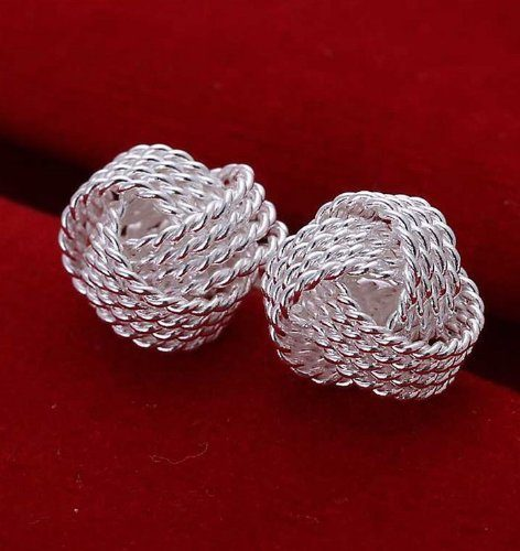 Five Pairs of Mesh Silver Earrings Only $3.48 + FREE Shipping!