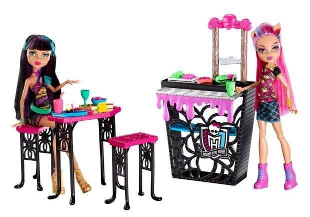 Monster High Creepteria with Cleo de Nile and Howleen Wolf Doll Just $12.09! (reg. $34.99)