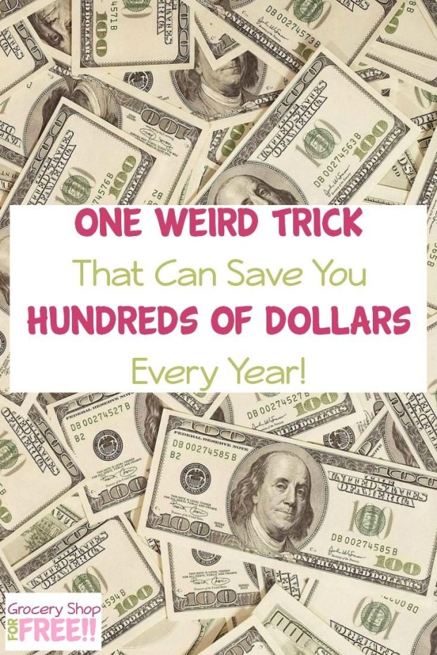 Save Hundreds Yearly With This One Trick!