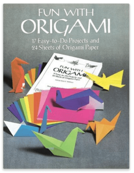 Fun With Origami: 17 Easy-To-Do Projects & 24 Sheets Of Origami Paper Just $2 Down From $6!