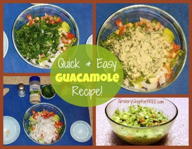 Quick & Easy Guacamole Recipe