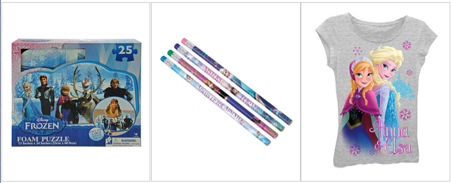 Disney Frozen Toys, Apparel Up To 60% OFF