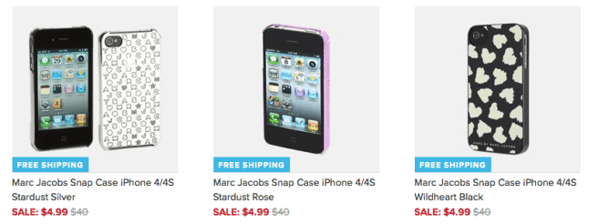iPhone Cases by Marc Jacobs Only $4.99 + FREE Shipping (Reg. $40)!