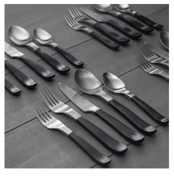 Gibson Home Luxton 20-Piece Flatware Set, Brush Finish