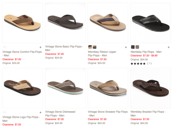 Men's Flip Flops Only $3.78 + FREE Shipping (Reg. $24+)!