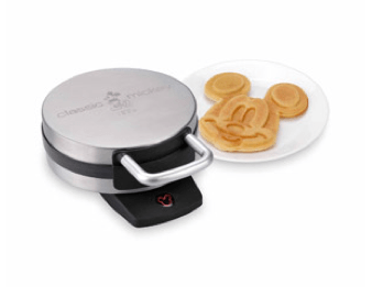 Disney Classic Mickey Belgian Waffle Maker Only $17.89 + FREE Store Pick Up!