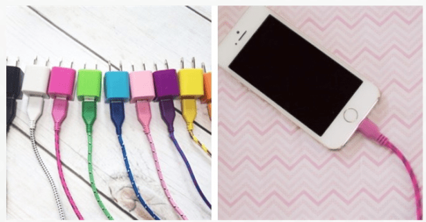 10 Foot iPhone 4 & 5 Bungee Charger Kits Just $4.99 (Reg. $24.99)!