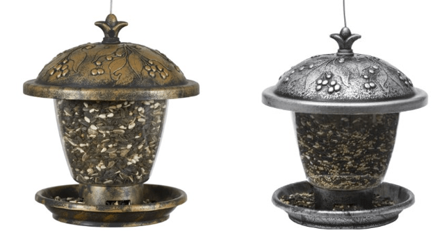 Holly Berry Gilded Chalet Wild Bird Feeders As Low As $7.99 + FREE Prime Shipping (Reg. $14.95)!