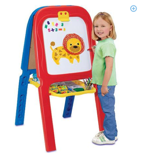 Crayola 3-in-1 Double Easel with Magnetic Letters Only $19 + FREE Store Pick Up (Reg. $40)!