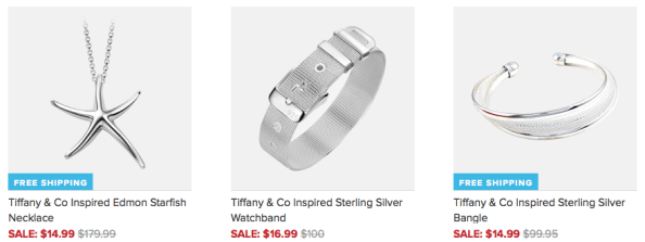 Tiffany & Co Inspired Jewelry As Low As $14.99 + FREE Shipping!