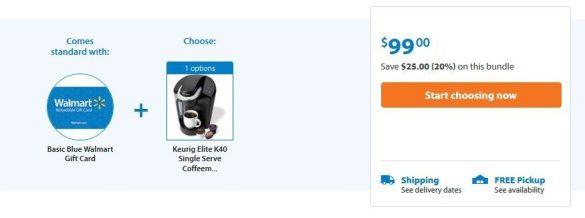 Keurig Elite K40 As Low As $74 + FREE Shipping (After $25 Gift Card)!