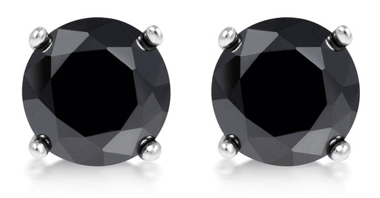 FREE 2cttw Black Diamond Earrings! Down From $130! Today Only!