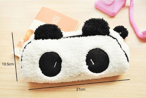 Soft Panda Pencil Case Only $2.54 + FREE Shipping!