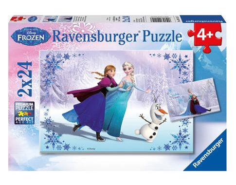"""Disney Frozen """"Sisters Always"""" Multi Puzzle Set Just $6.50! Down From $12.99!"""