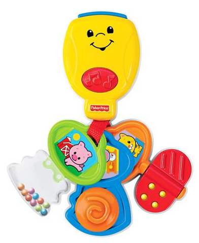 Fisher-Price Brilliant Basics Nursery Rhyme Keys  Just $6.56 Down From $14.98!
