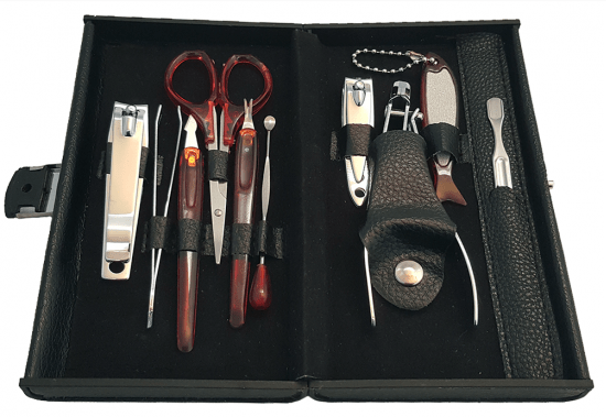 RC Collection Deluxe 10 Piece Manicure Set with Carrying Case Just $5.49 Down From $24.99! Ships FREE!