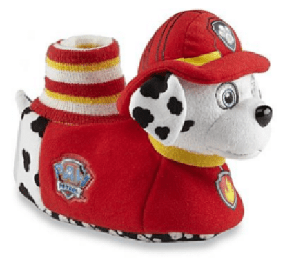 Nickelodeon Toddler Boy's PAW Patrol Red/Yellow Plush Slipper Just $4.89! Down From $14.99!