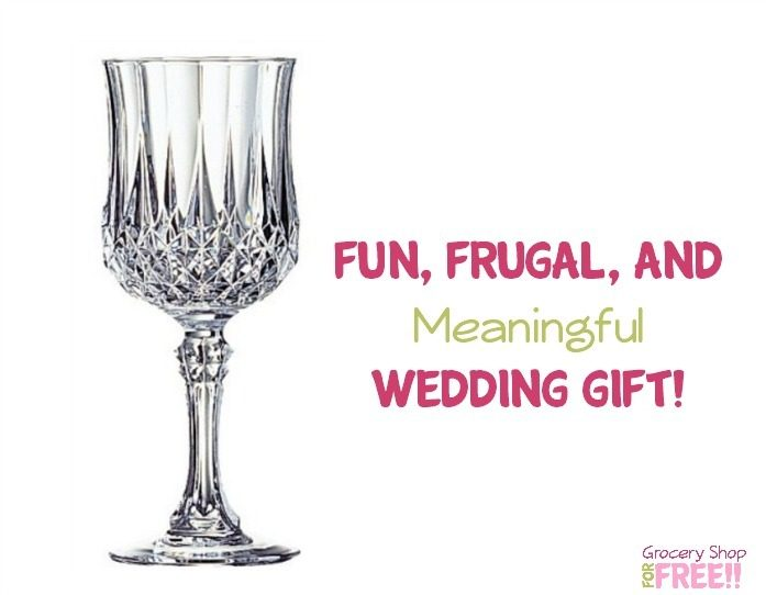 Fun, Frugal, And Meaningful Wedding Gift!