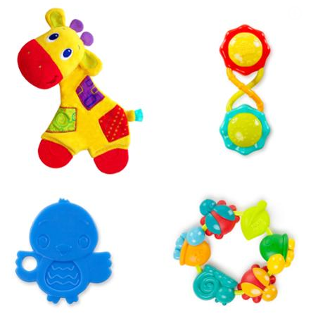 Bright Starts Teething Fun Gift Set Just $7.88! Down From $18.61!