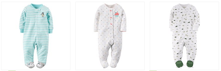 Carter's Sleep & Play Only $4.40! Down From $16.00!