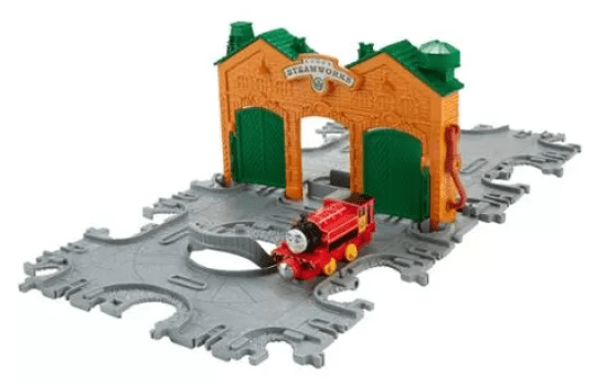 Fisher-Price Thomas and Friends Take-n-Play Steamworks Tile Tracks Just $9.80! Down From $29.65!