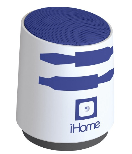 iHome Star Wars R2D2 Rechargeable Portable Speaker Just $9.99 Down From $24.99 At Best Buy! Today Only!